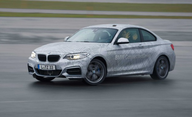 Drift Baby, Drift: Countersteering Stability Control BMW Coming Soon [2014 CES]