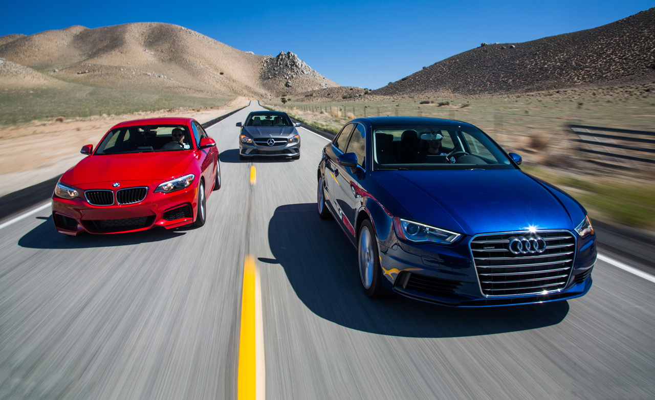 2015 Audi A3 Quattro vs 2014 BMW 228i, 2014 Mercedes-Benz CLA250 4MATIC