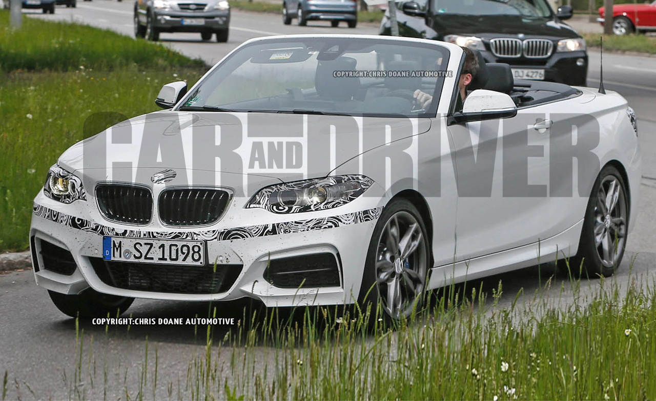 2015 BMW 2-series / M235i Convertible Spy